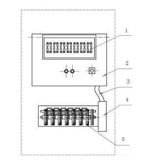 主控板会向机械计数器的步进电机发送一定量的脉冲使