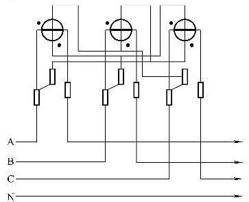 2种常用无功电能表原理接线图说明