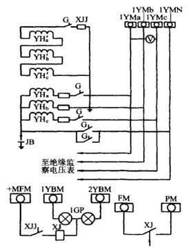 五柱式三相电压互感器工作原理图片
