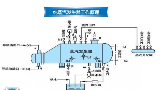 纯蒸汽发生器工作原理是什么呢?