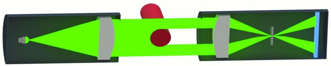 棒材测径仪对线棒材断面形状进行测量的原理是什么?