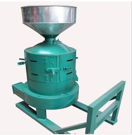 谷子碾米机组结构与调整方法