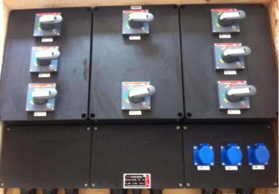 防爆配电箱内部元器件是怎样的?