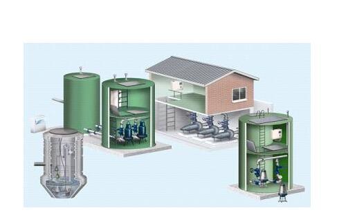 玻璃钢一体化预制泵站的作用如何?