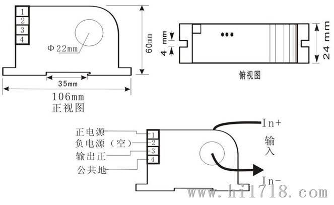 对于4~20ma两线制环路,接收器电阻通常为250Ω(取样uout=1~5v)这个