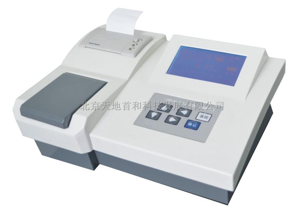 TN-2A型可贮存10条工作曲线及99个历史记录的总氮分析仪