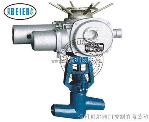 J961电动焊接不锈钢截止阀