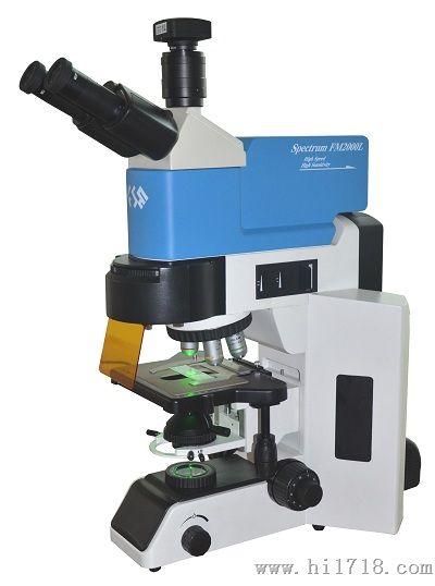 倒置荧光显微镜使用展示