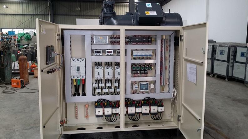 超低温冷水机并联机组,大型制冷机组