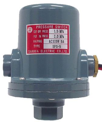 日本SANWA三和电机 SPS-5 气体液体用微压开关