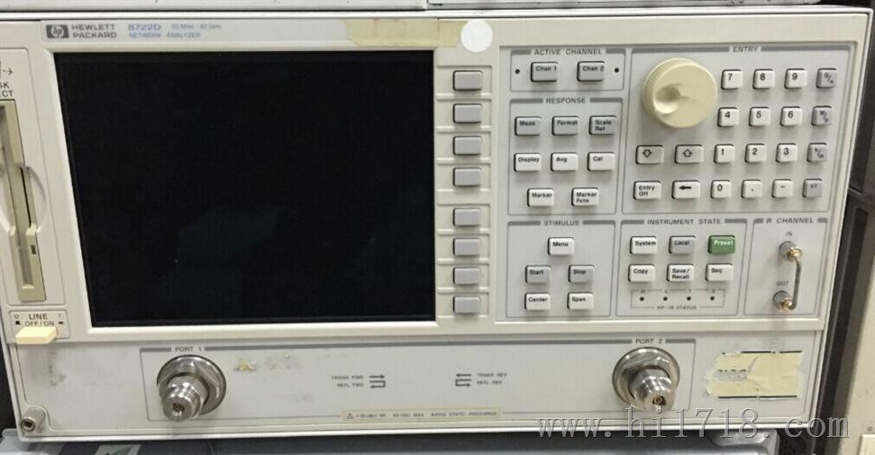 agilent8722d网络分析仪/安捷伦8722d矢量网络分析仪
