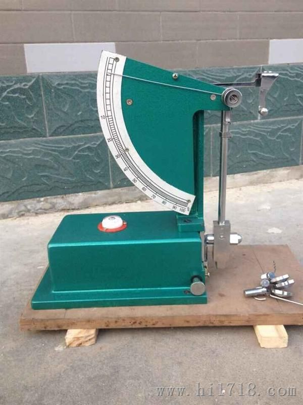 橡胶冲击弹性试验机