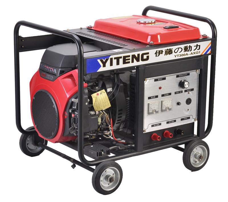 然后按照电焊机相应电压