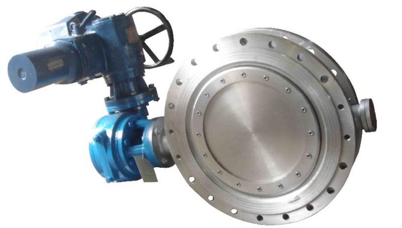 plc控制箱控制电动蝶阀的连接形式有无法兰对夹式,法兰连接和对焊图片