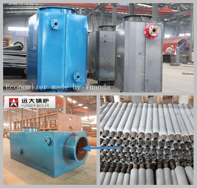 1-4吨燃煤锅炉的烟囱高度是16米,6-8吨燃煤锅炉烟囱的高度是20米, 10-12吨燃煤锅炉的烟囱高度是30米,15吨燃煤锅炉的烟囱高度是35米。15吨以下的烟囱可用碳钢或不锈钢,15吨以上的锅炉的烟囱可用砖砌。值得注意的是,砖砌烟囱的成本要远远高于钢质烟囱。 燃煤锅炉和燃气锅炉的炉型结构有很大区别,煤炉的燃烧方式是层燃,气炉的燃烧方式是室燃,所以燃煤锅炉改成燃气锅炉的想法是无法实现的。 WNS系列锅炉设计燃料是:气或油。