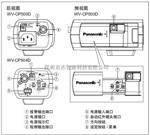 WV-CP504CH松下高清650线枪式摄像机