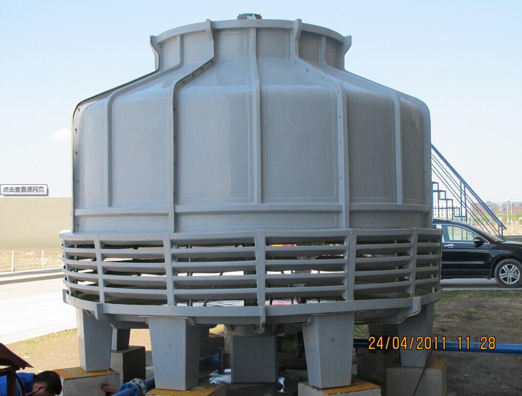 与高端中央空调系统的水源热泵机组和水冷机组配套等; 冷却塔的作用