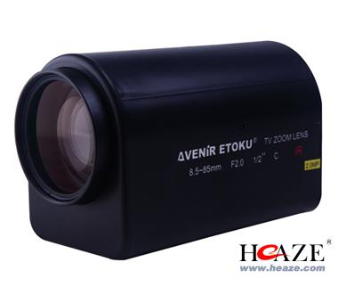 精工镜头SL8585MIRMP精工高清200万像素电动三可变监控8.5-85mm