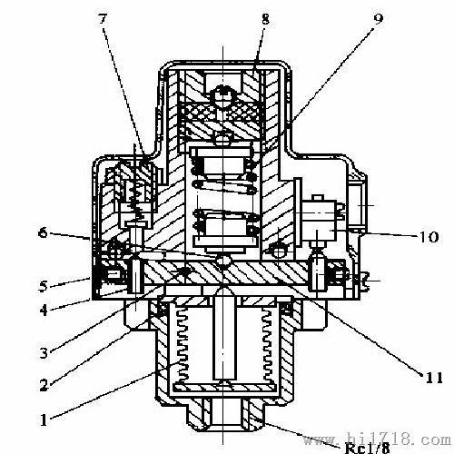批发DP 25 A B压力继电器 天津液压件厂