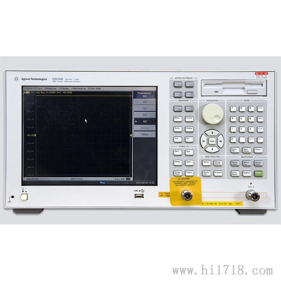二手安捷伦e5071c矢量网络分析仪