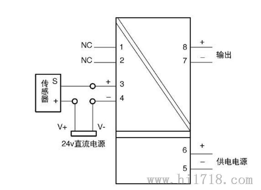 霍尔电流表非接触电流传感器变送器夹钳开启检测元件双向 600a 650a