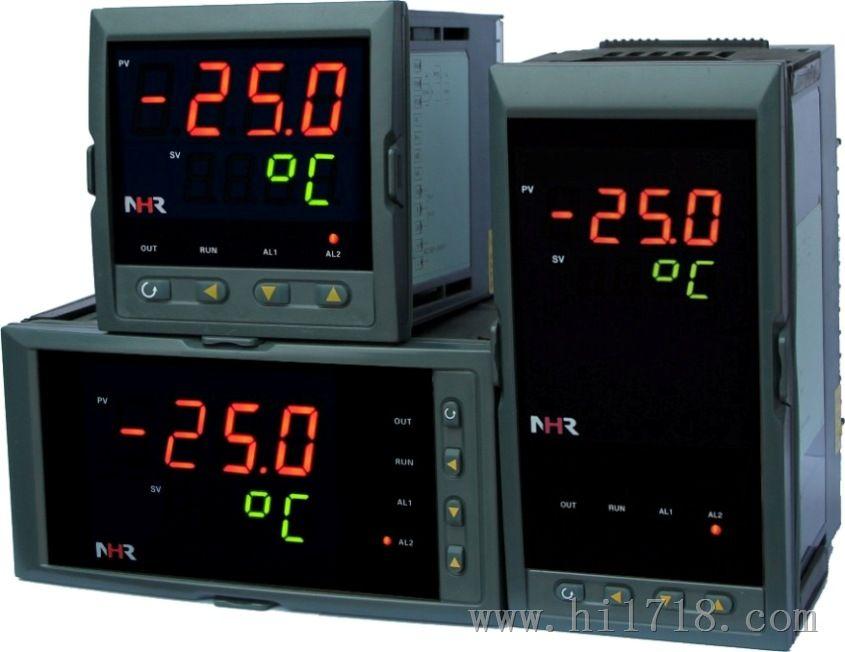 虹润推出经济型NHR1300系列模糊PID调节器