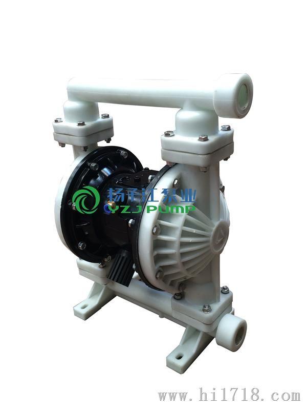 气动隔膜泵工作原理图