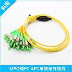 MPO-FC单模光纤跳线 24芯APC 2米光纤跳线 MPO/MTP跳线可定制厂家