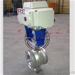 电动V型对夹球阀Q970F-16 DN40