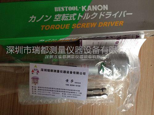 原装销售日本中村KANON扭力起子螺丝刀100LTDK|N100LTDK