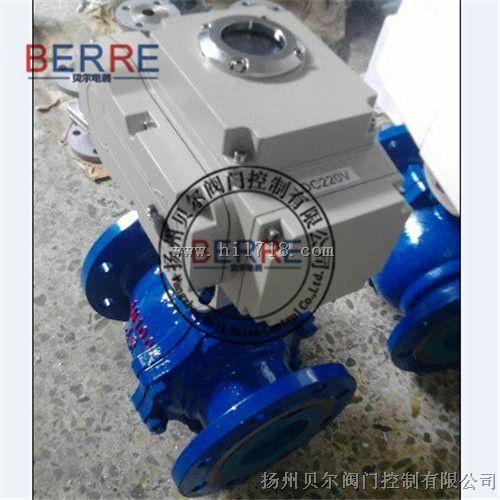 电动球阀衬PPL材质Q941PPL-16C DN80