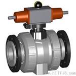 瑞士 +GF+ 230型 气动球阀 PVC-C FC