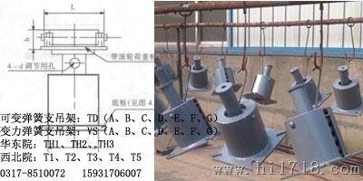 生产厂家现货供应TD(ABCDEFG)型可变弹簧支吊架JB8130.2-1999