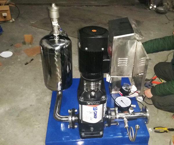 高层施工用水增压泵图片