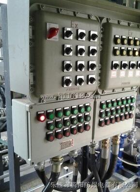 电伴热防爆触摸屏控制柜/防爆电气控制柜