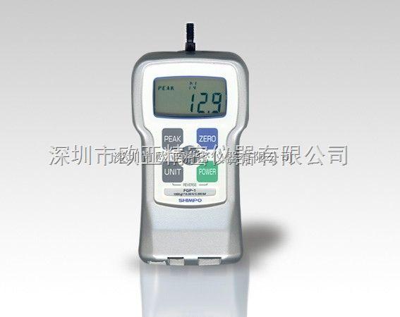 日本SHIMPO新宝 FGP-1数显测力仪