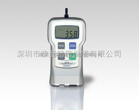 日本电产新宝(SHIMPO)FGJ-50数字测力仪
