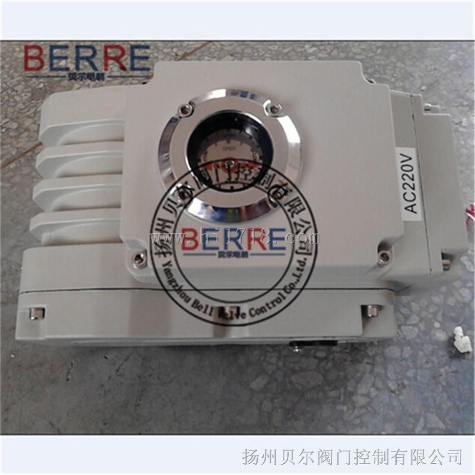 电动开关型四氟对夹蝶阀执行器