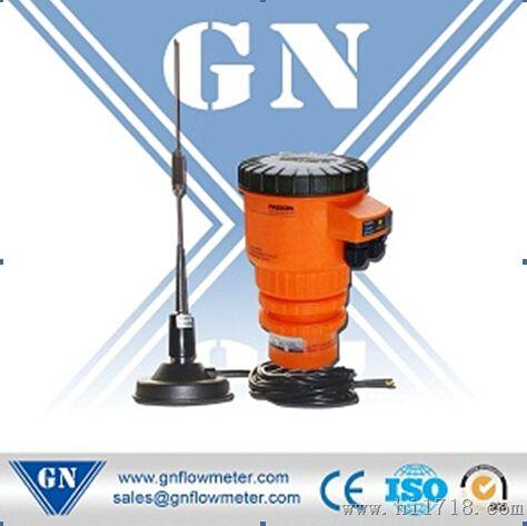 它由超声波液位计—电量转换器,编码器,调制电路,高频放大电路,变频电