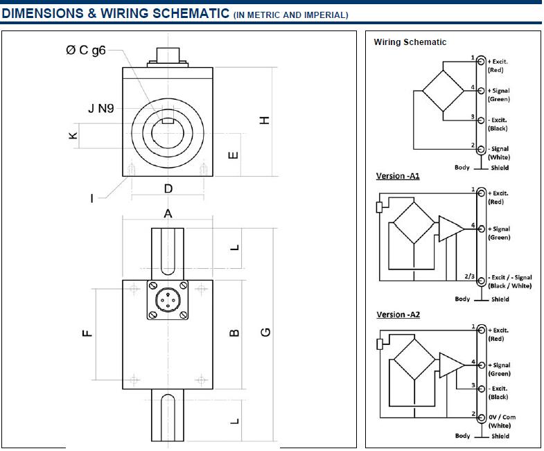 美国精量扭矩传感器CD1095,CD1095扭矩变送器 典型应用: 动态应用,过程控制设备,测试测量,机器人和终端设备,实验室和研究 行业: 工业控制 替代: 产品规格书: CD1095  产品描述: CD1095系列扭矩传感器主要用于转轴扭矩的实时测量。金属应变片组成的惠斯通电桥提供优异的温度稳定性。另外有内置放大器的放大输出型号可选。作为拥有多年经验的传感器设计和制造商,MEAS常常与客户合作,按要求定制适合特殊用途和测试环境的传感器。 同时,我们也根据客户需要提供成套系统。配套元件(传感器,电源,放