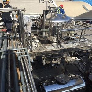 烛式过滤机(滤饼层过滤机)全自动操作   结构特点: 三环保烛式过滤机