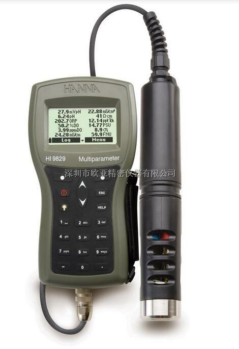 HI9829 高精度多参数(15项)水质分析测定仪