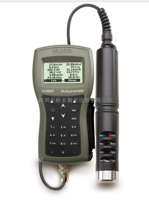 HI9829T高精度多参数(16项)水质分析测定仪