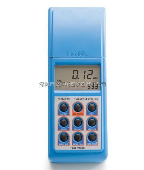 HI93414微电脑余氯-总氯-浊度(EPA标准)测定仪
