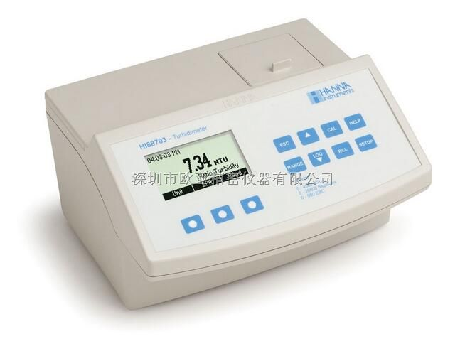 HI88703微电脑多量程浊度(EPA标准)测定仪