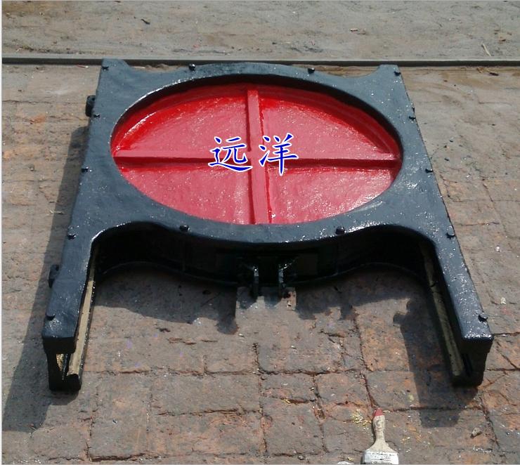 铸铁镶铜闸门结构与要求