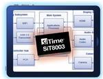 SITIME平板電腦用時鐘振蕩器SiT8003,低功耗