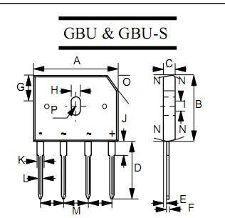 电子元器件 沛伦科技(深圳)有限公司 产品中心 桥堆/整流桥/桥式整流