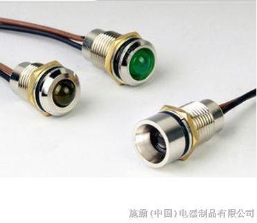 led防水指示灯厂家|防水金属指示灯|广东防水指示灯,开孔6mm8mm12mm