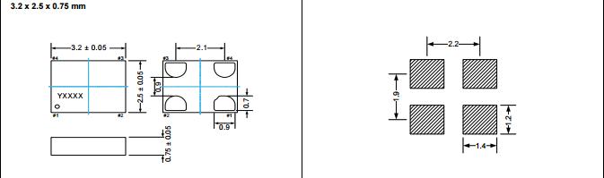 供应13mhz有源晶振 3.3v 低功耗晶振 3225石英钟振osc